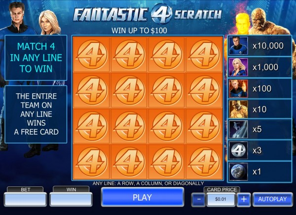 Fantastic Four Scratch